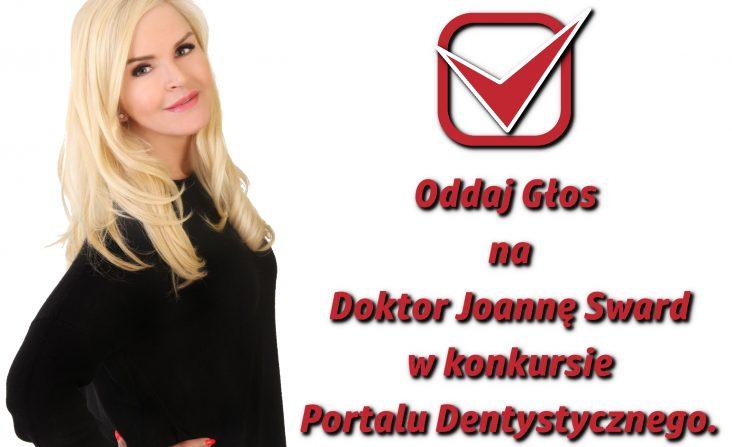Dr Joanna Sward Dentysta roku 2018