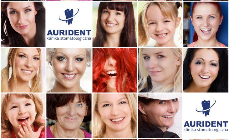 Kobiecy dentysta Aurident